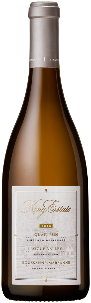2016 King Estate <span> Quail Run Marsanne-Roussanne </span> KE Product Image